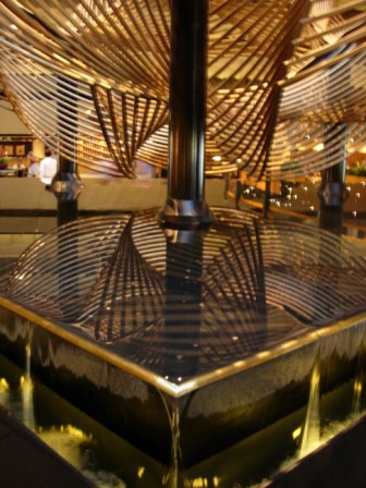 Eclipse Fountain in Hyatt Regency San Francisco lobby