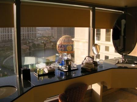 Las Vegas Planet Hollywood Bellagio fountain view