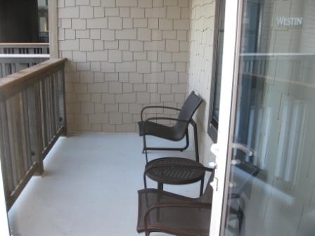 Room 2013 balcony