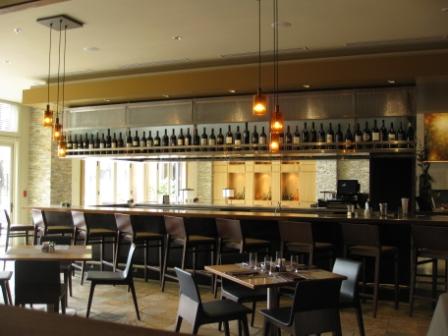 Westin Verasa Napa bar in open lobby