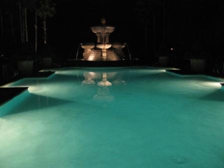 Ocean Pool at night