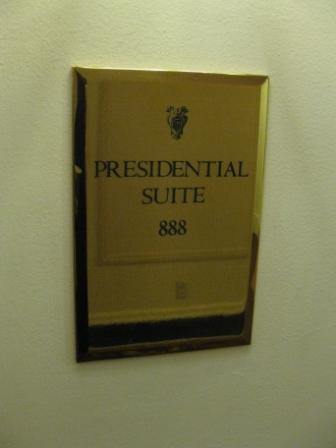 The Palace Hotel San Francisco, Room 888-Presidential Suite