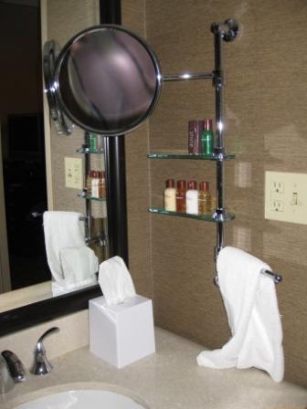 Bathroom amenities, Sheraton Denver Downtown