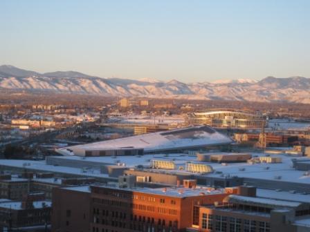 Rocky Mountains view Sheraton Denver Downtown