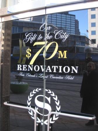 Sheraton Denver Downtown $70 Million Renovation