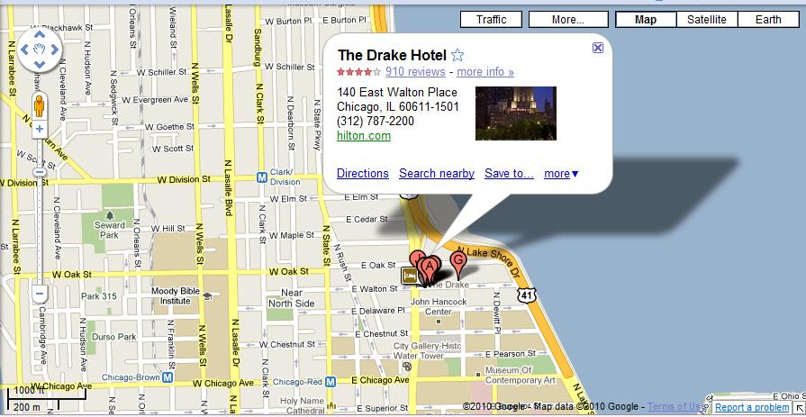 Palmer House And The Drake Historic Chicago In Hilton Hotels - Chicago hotels map
