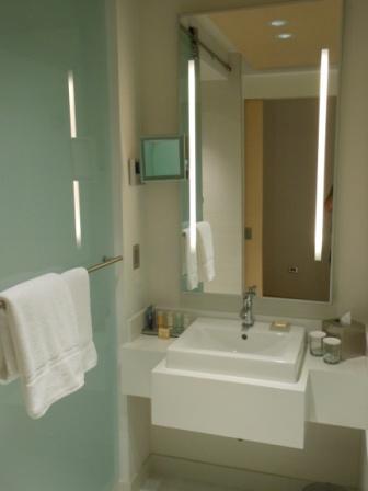 Guest room 604 at Radisson Blu Aqua Chicago  Loyalty