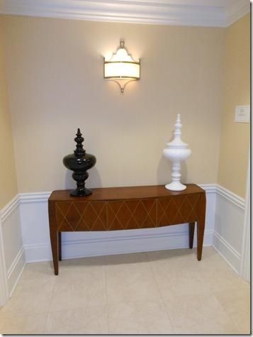 JW Marriott LaSalle Suite foyer