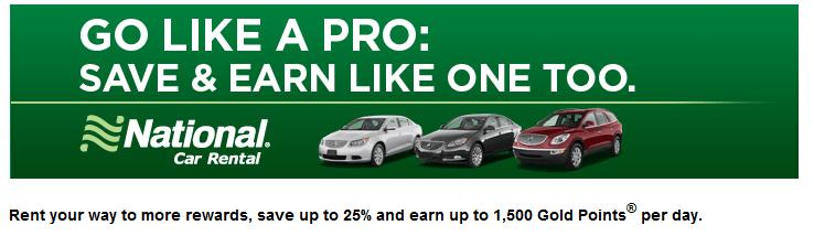 National car rental coupon id