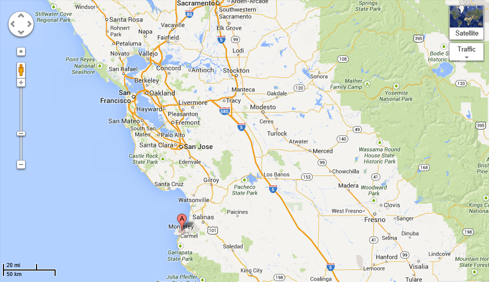 Google Maps Usa California Map Usa Map Images - California usa map