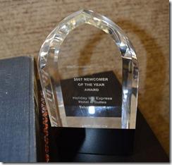 HIX Tehachapi Award