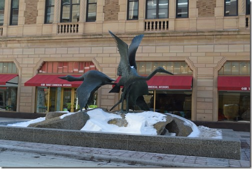 Nicollet Mall sculpture