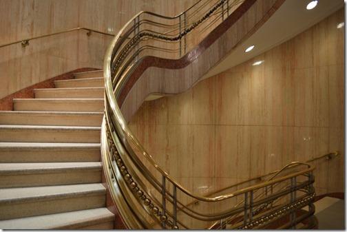 Westin Bank stairway