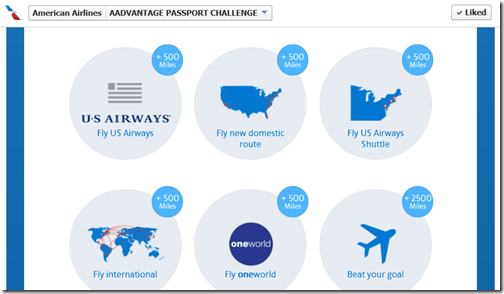 AAdvantage Passport Flight bonuses