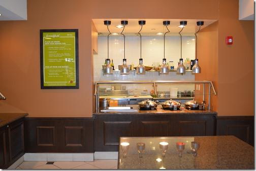 HGI breakfast bar