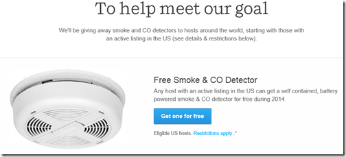 airbnb smoke detector