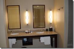 Andaz Bathroom counter