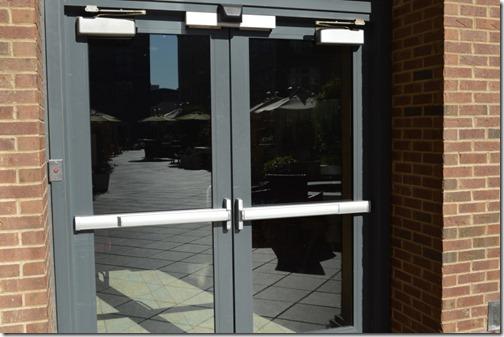 Andaz Pool deck doors