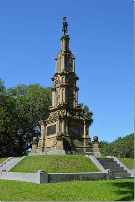 Forsyth Park confederate memorial