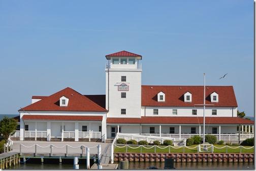 Ocracoke Ferry setting