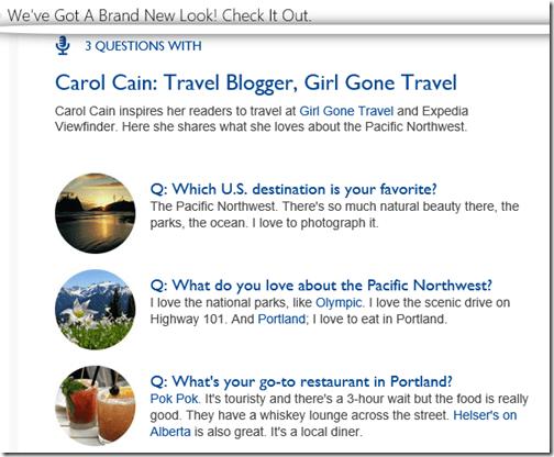 Marriott eBreaks travel stories