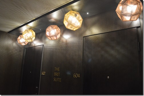 Brit Suite lights
