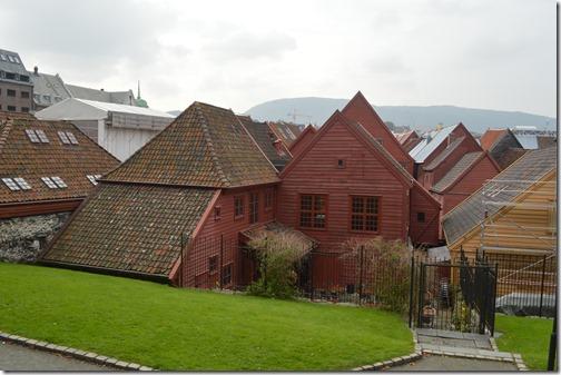 Bryggen structures