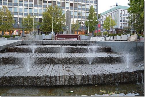 Larvik City sqaure