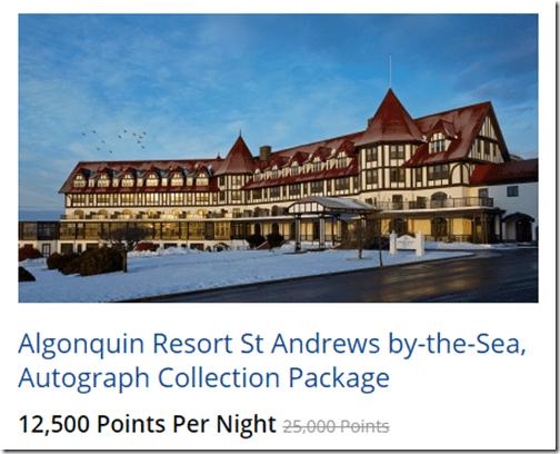 Algonquin Resort