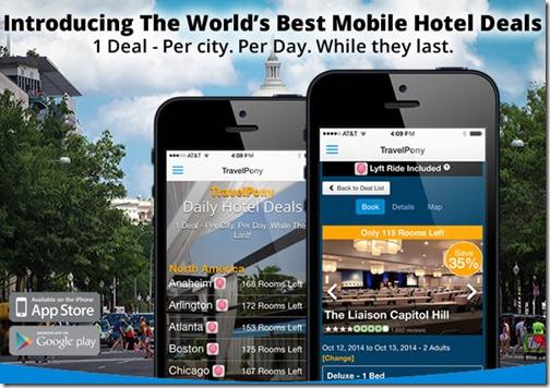 TravelPony mobile app
