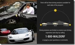 Waldorf Astoria Driving Experience
