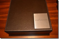 Andaz coffee box