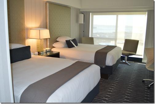 Grand Hyatt beds