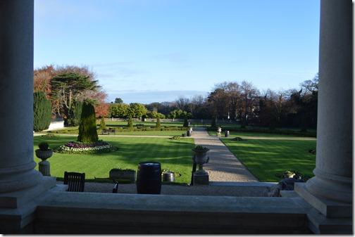 St Helens back garden