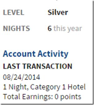 Marriott Silver elite