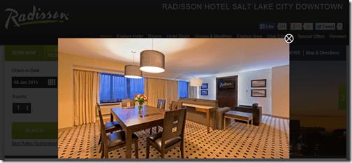 Radisson SLC Presidential Suite photo