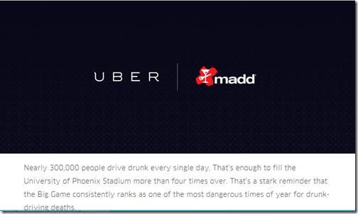 Uber MADD