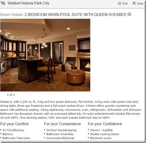 WA Park City 2BR suite