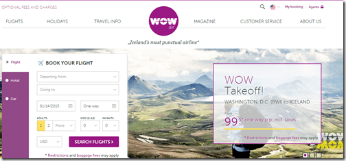 WOW Air website home 1-14-15