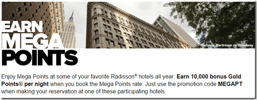 Club Carlson MegaPoints