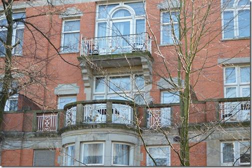 Park Plaza Vondelpark balcony
