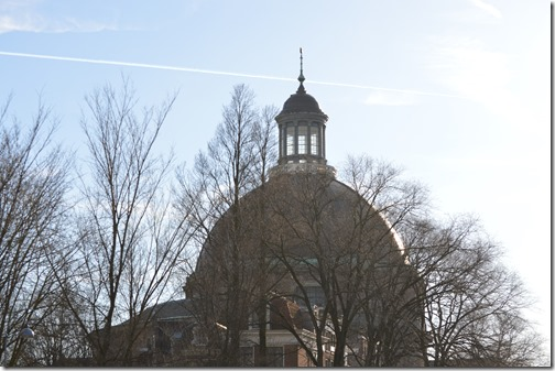 Renaissance round kerk