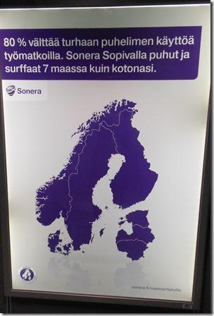 Nordic-Baltic region map