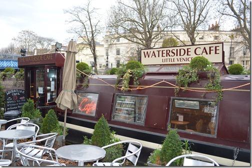 Paddington barge cafe