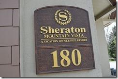 Sheraton Avon sign