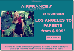 Air France LAX-PPT $999 May15