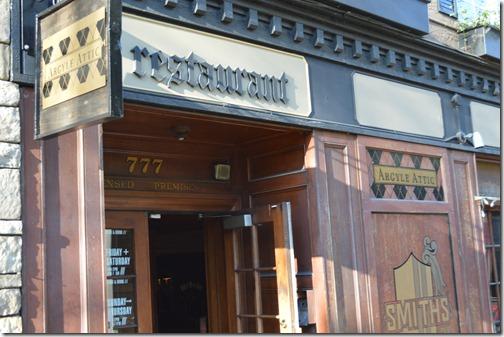 Argyle Attic pub