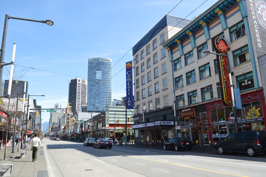 Perfectly comfortable at comfort inn downtown vancouver for Hotels granville