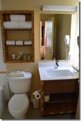 Comfort Inn bathroom
