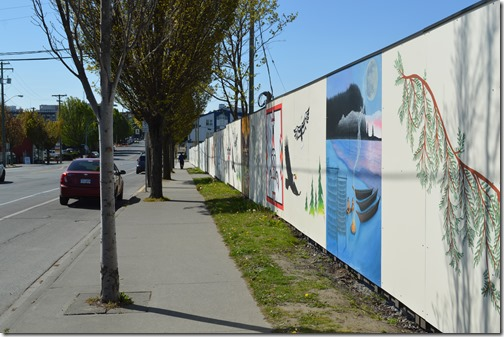 First Nations murals